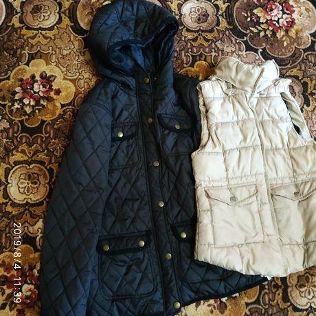Жилєтка і курточка