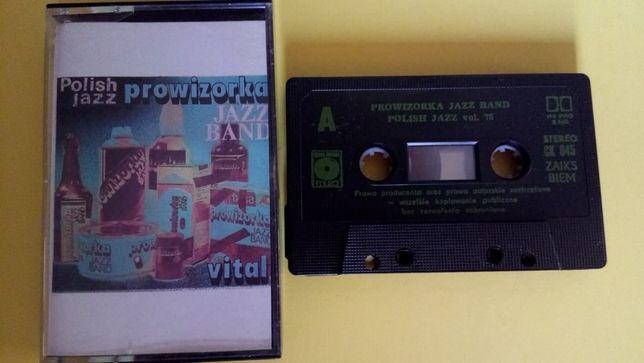 Prowizorka Jazz Band – Vital, 1989, kaseta magnetofonowa, Polish Jazz