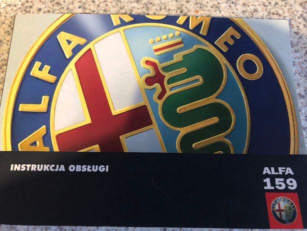 instrukcja obsługi Alfa Romeo 159, nowa
