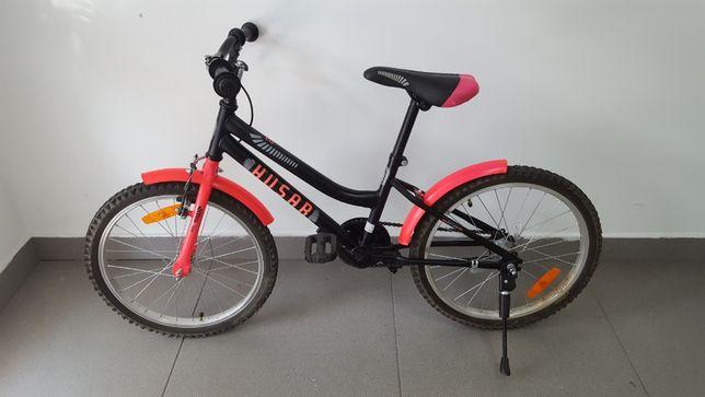 """Rower górski Husar 20"""" różowo czarny"""