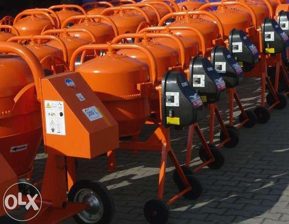 BETONIARKA betoniarki 120 - 260 L nowe dostawa gwarancja