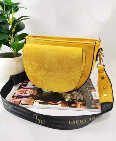 Żółta listonoszka Laura Biaggi nowa kolekcja wiosna 2021