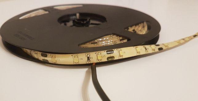 NOWA taśma LED 12V IP65 barwa zimna biała