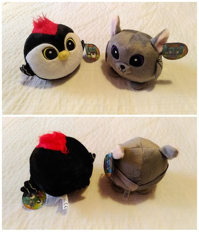 Peluches do pingo doce - pica pau e morcego