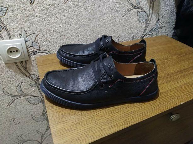 Мужские кожаные туфли Miraton