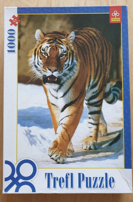 Trefl puzzle 1000 - tygrys