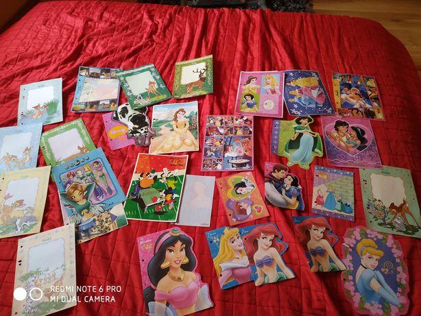 Kartki do segregatora Disney, Bambi itp