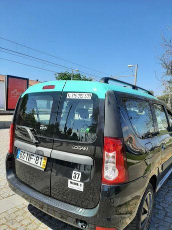 Taxi transporte de passageiros