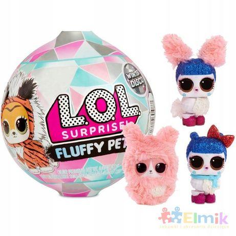 lol fluffy zwierzątko pets winter disco zimowa kul