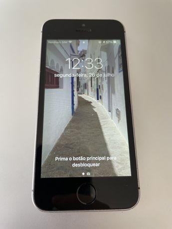 Iphone SE Space Gray 64GB em excelente estado grau A