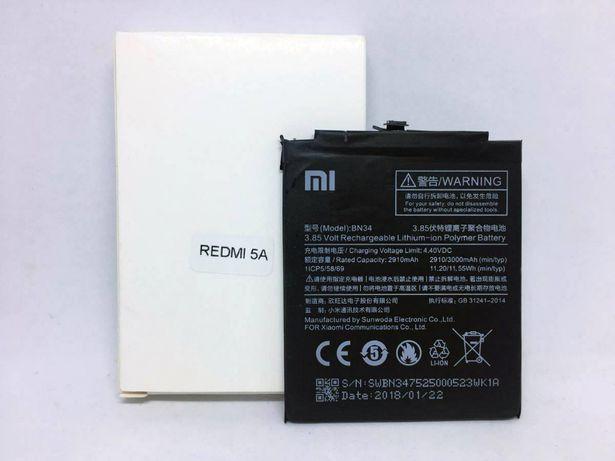 Bateria original Xiaomi para Xiaomi Redmi 5A - BN34 - Nova
