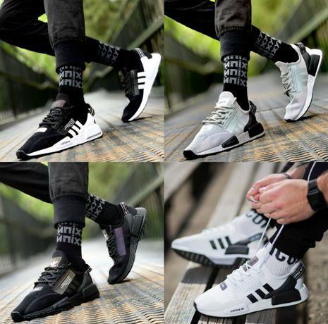 Мужские кроссовки Adidas NMD 41-45 Хит Лета! Ориг Коробка! Наложка!