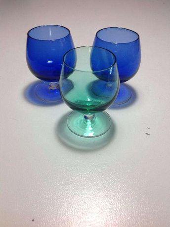 Copos de shot/Whiskey em miniatura coloridos