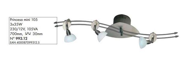 Lampa sufitowa Paulmann Princesa mini 105 230V