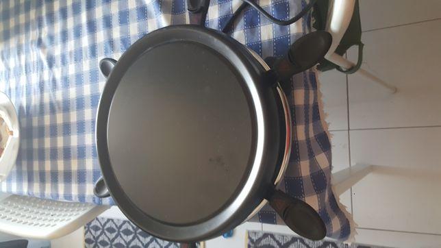 Máquina de grill e fritadeira