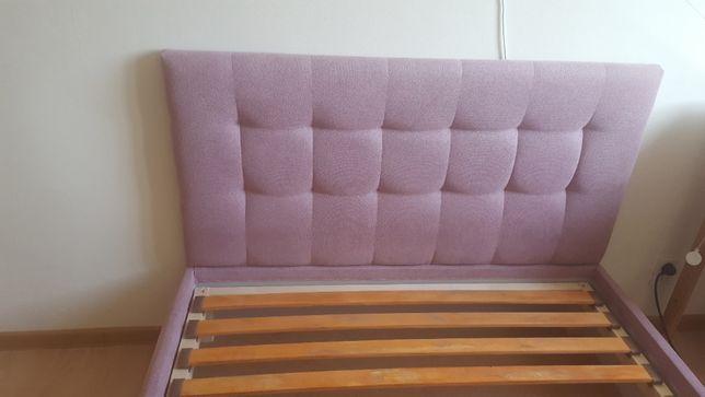 łóżko tapicerowane pod materac o wym. 120*200