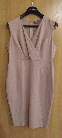 Сукня футляр пудрового кольору Асос 18 розмір