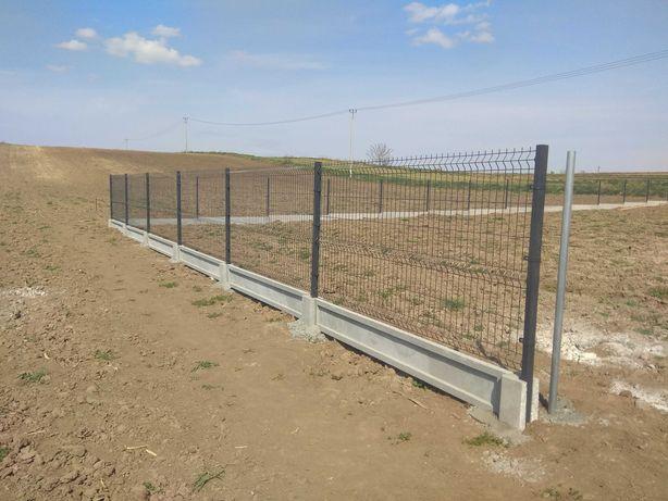 Montaż ogrodzenia panelowego panelowe panel paneli ogrodzeń siatki