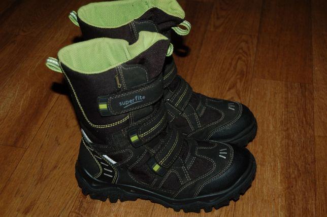 Зимние ботинки на мембране 33 р SuperFit GeoxTex хорошее состояние