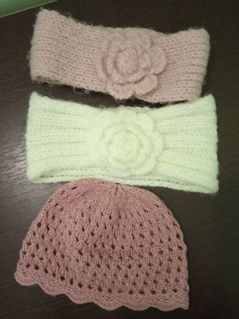 Повязка на голову, сетчатая шапка для девочки
