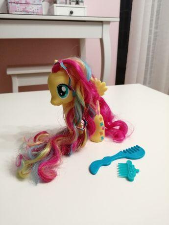 My Little Pony -> Duża Fluttershy z długą grzywą