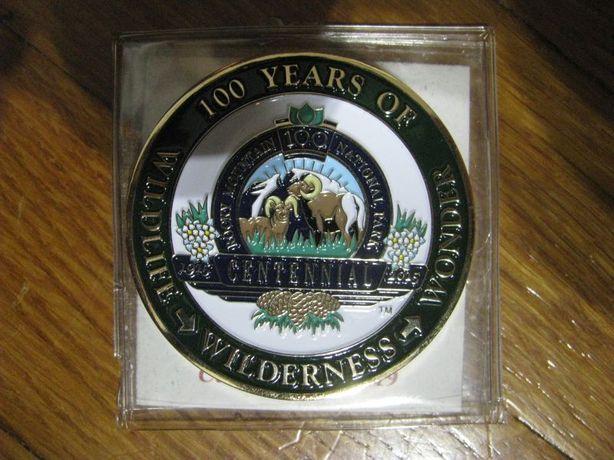 Medal okolicznościowy 100 lat parków narodowych USA