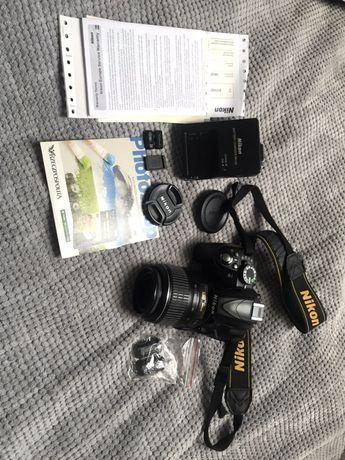 Lustrzanka Nikon D3100 18- 55VR GRATIS Pierwszy wlasciciel!