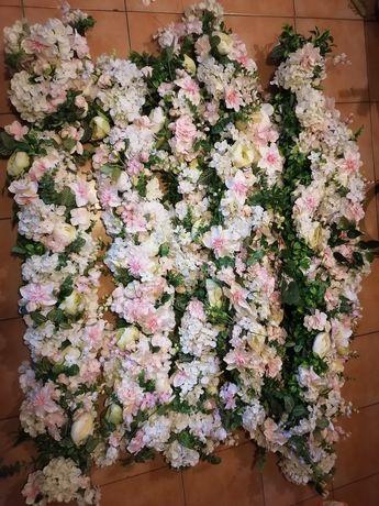 Girlanda Kwiatowa - ozdoba ślubna