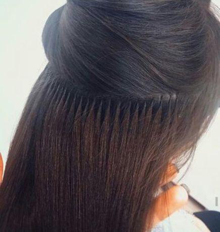 Наращивание волос, снятие нарощенных волос