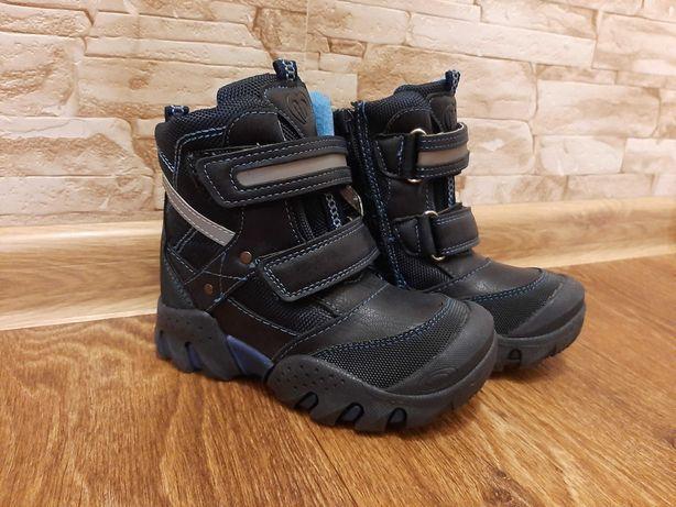 Детские зимние ботиночки на мальчика 17см стелька 27 размер