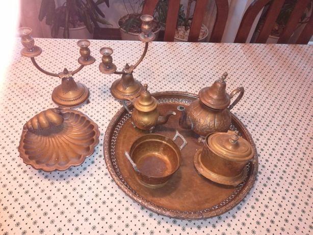 Conjunto em cobre