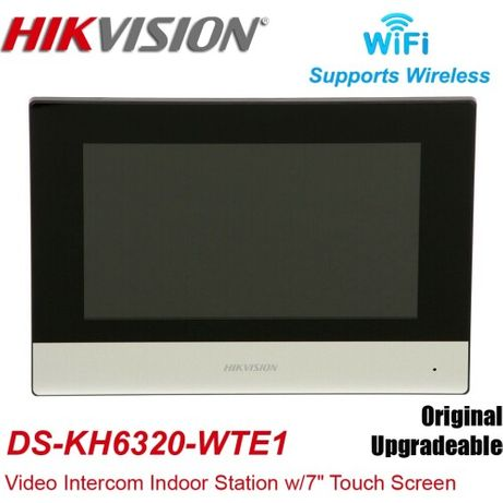 DS-KH6320-WTE1, DS-KH6320-TE1 7 IP відеодомофон Hikvision
