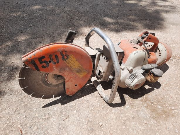 Stihl TS serra cortadora de betão
