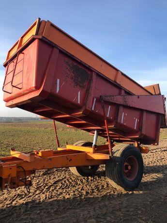 Przyczepa rolnicza Vallet 13 ton