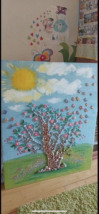 Картина «Дерево жизни»95*115 Киев - изображение 1