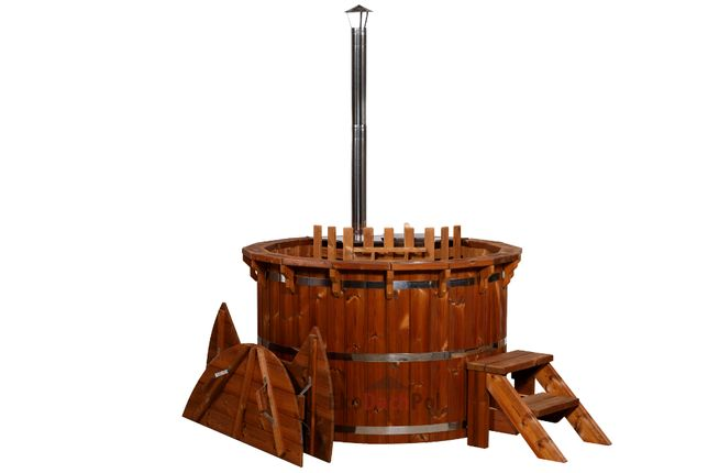 Thermo Balia Kąpielowa Bania Ruska Beczka Wodna Sauna Spa