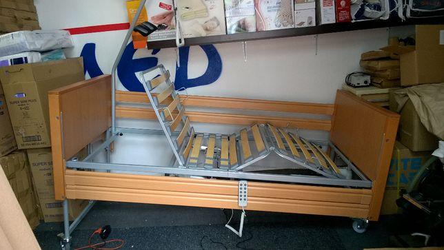 Łóżko rehabilitacyjne elektryczne z barierkami Elbur PB 331 Warszawa