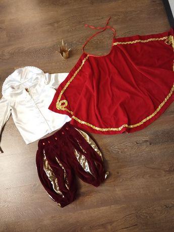 Карнавальный костюм принца, короля на мальчика 3-6 лет