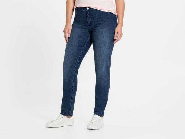 Базовые джинсы женские Esmara Slim fit. Батал, большой размер.