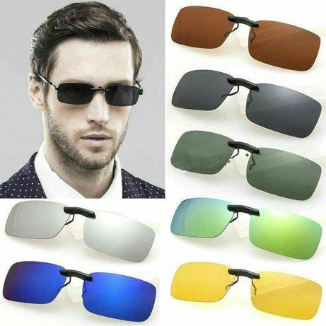 clip lentes sol para oculos graduados
