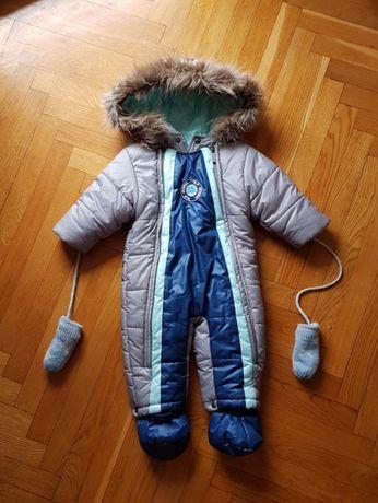 kombinezon niemowlęcy, śpiwór 68, zima Wójcik
