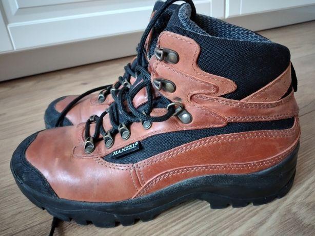 Hanzel Gerlach buty trekingowe górskie r 38 skóra naturalna