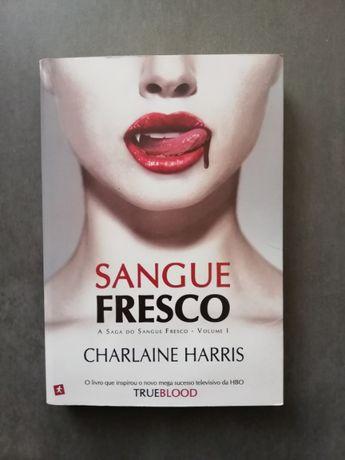 "Livro ""Sangue Fresco vol. I"" - Charlaine Harris"