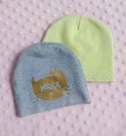 Весенние детские шапочки, шапка р.40-42