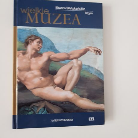 Wielkie Muzea Rzym Muzea Watykańskie KSIĄŻKA Album NOWY