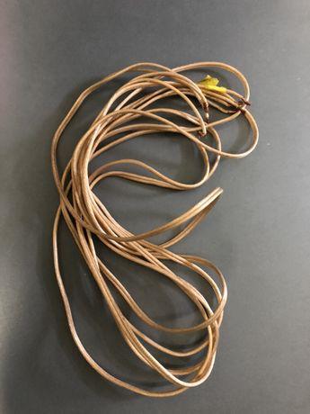 2x Kabel głośnikowy 2x2,5. Dł w sumie 6m.