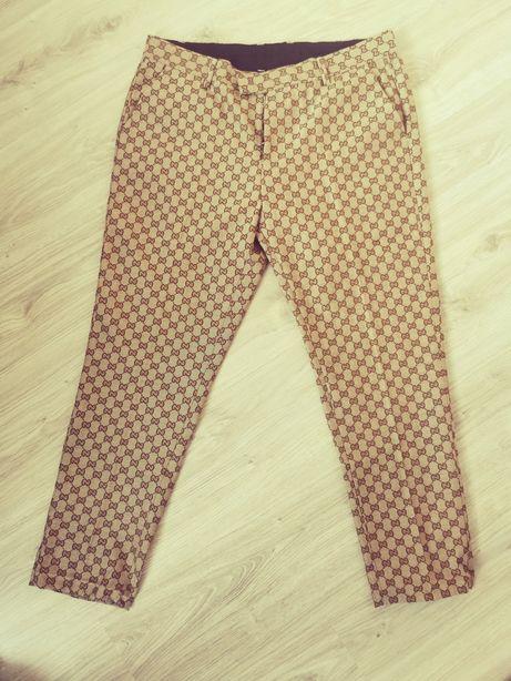 Spodnie Gucci fendi  torba torebka canvas