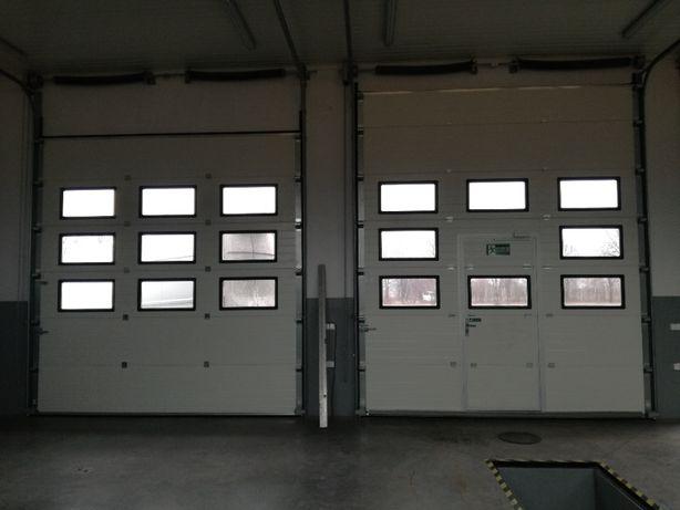 Brama segmentowa garażowa przemysłowa bramy garażowe KRASNYSTAW
