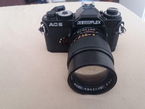 Sprzedam aparat analogowy AC2 REVUEFLEX + obiektyw