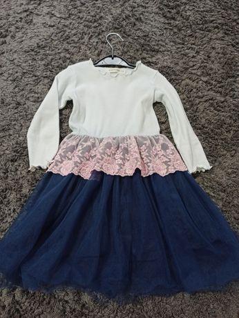 Красивое нарядное платье. Платье на утренник. Размер 98-104